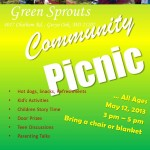 Community Picinic May 12 2013
